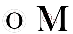Tratti distintivi dei font Transitional