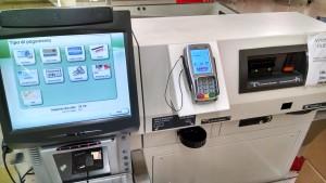 Cassa automatica al momento del pagamento