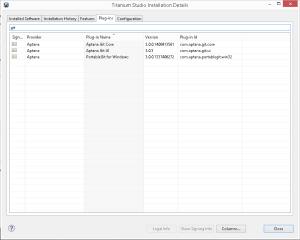 Come guardare il dettaglio dei plugin installati