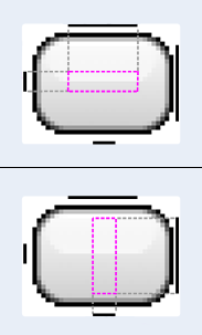 Esempio di immagine 9-patch