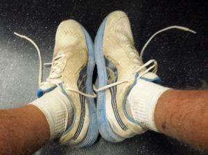 Le scarpe a fine cammino... arrivato a casa le ho buttate