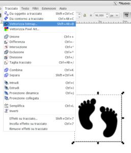 Vettorizzazione dell'icona raster