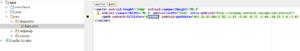 Il risultato: icona vettoriale in formato xml